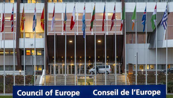 Siedziba Rady Europy w Strasburgu, gdzie odbywają się posiedzenia PACE. - Sputnik Polska