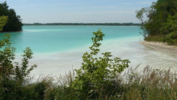 Jezioro we wsi Gajówka, tzw. Polskie Malediwy - Sputnik Polska