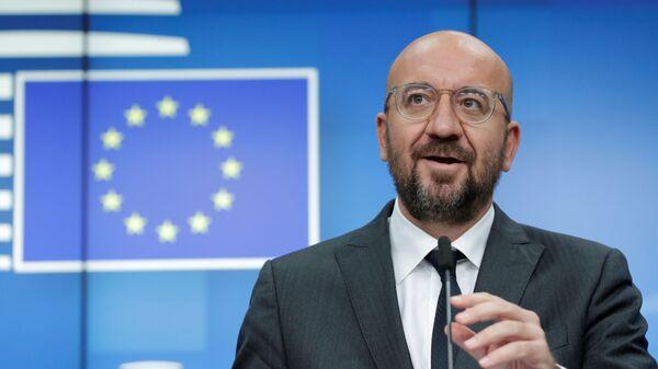 Szef Rady Europejskiej Charles Michel. - Sputnik Polska