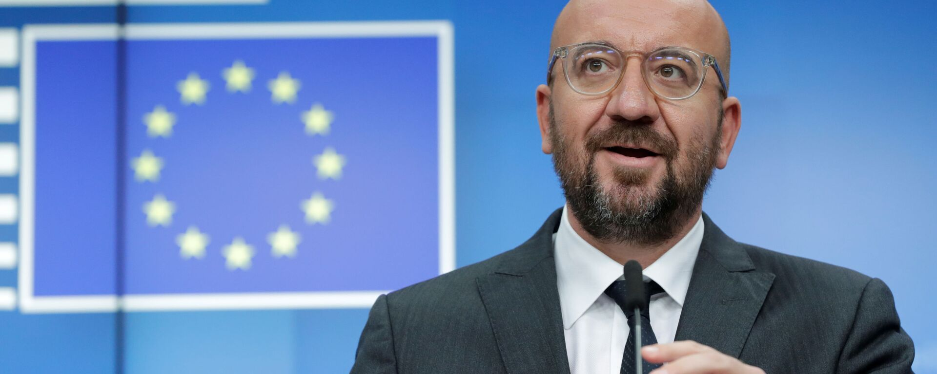Szef Rady Europejskiej Charles Michel. - Sputnik Polska, 1920, 17.07.2021