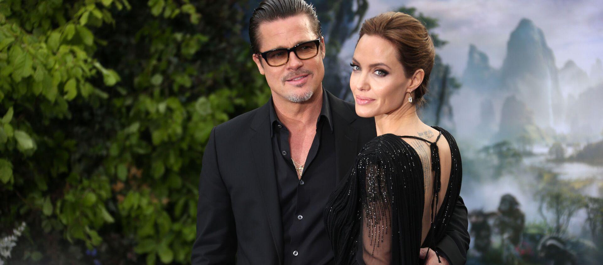Brad Pitt i Angelina Jolie w 2014 roku - Sputnik Polska, 1920, 21.06.2020