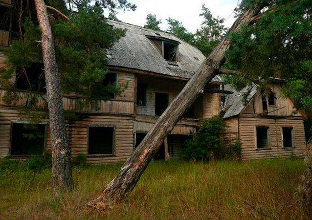 Budynek sztabu 1. Dywizji Kościuszkowców