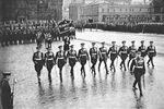 Marszałek ZSRR Wasilij Sokołowski na Placu Czerwonym, 24 czerwca 1945 roku