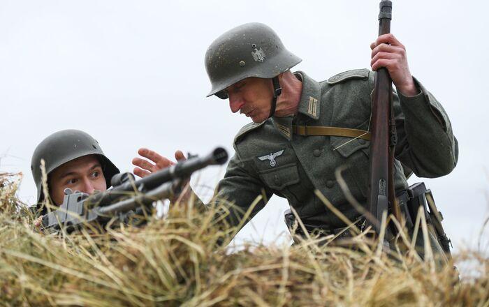 Rekonstrukcja pierwszego dnia Wielkiej Wojny Ojczyźnianej pod Kazaniem