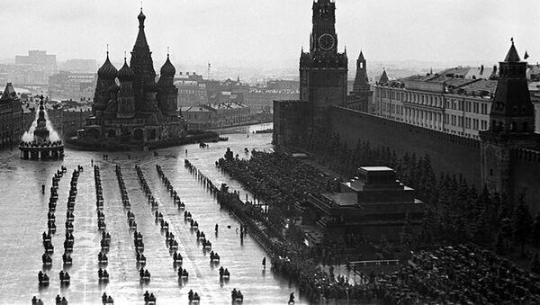 Defilada Zwycięstwa 24 czerwca 1945 roku - Sputnik Polska
