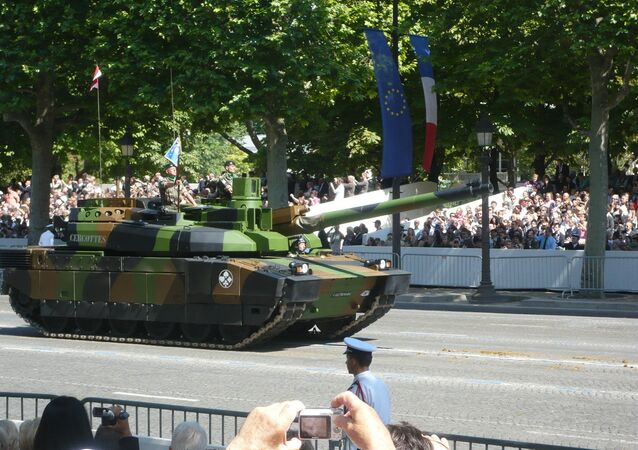 Francuski czołg Leclerc