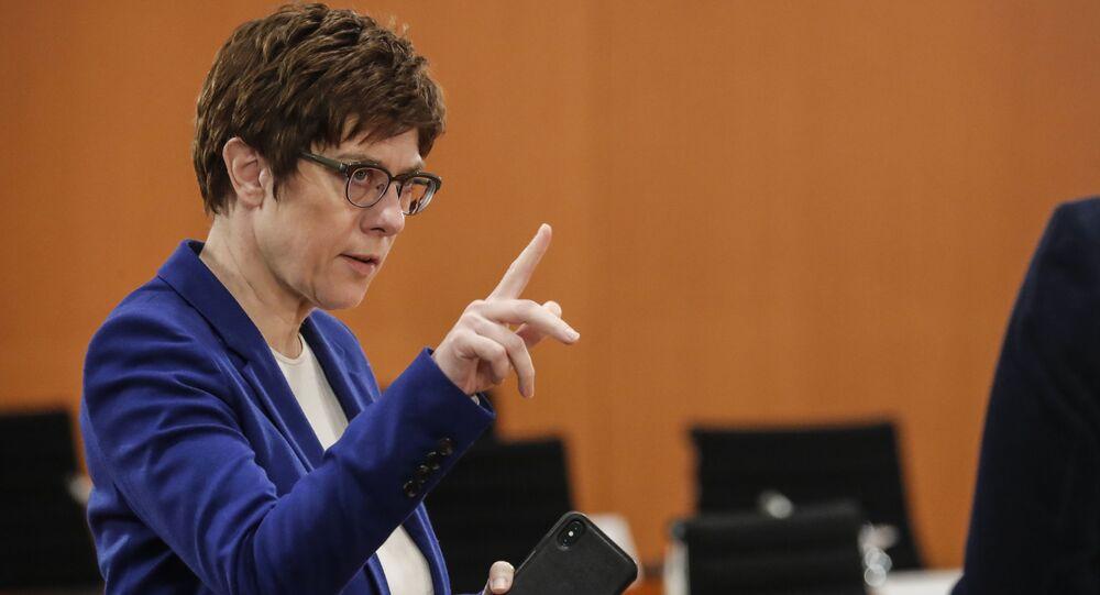 Minister obrony Niemiec Annegret Kramp-Karrenbauer