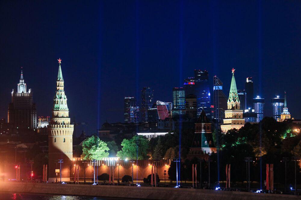 """""""Promienie zwycięstwa"""" w Moskwie"""
