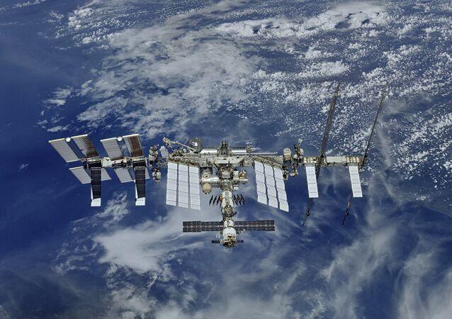 Widok na MSK z kosmosu