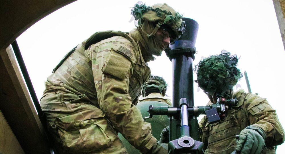 Wojskowi 2 brygady pancernej USA na ćwiczeniach wojskowych w Europie