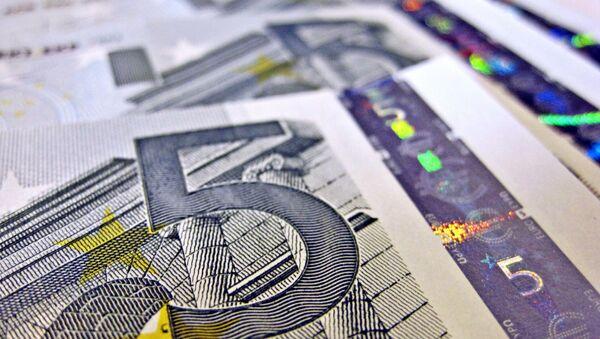 Banknot 5 euro - Sputnik Polska