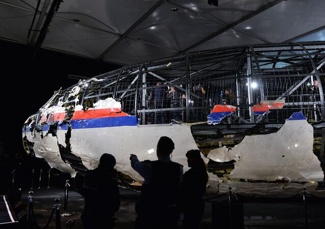 Boeing 777 Malaysia Airlines (rejs MH17)