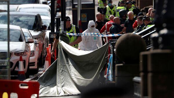 Atak nożownika na West George Street w Glasgow, Szkocja  - Sputnik Polska
