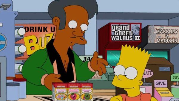 Amerykański animowany serial komediowy Simpsonowie. - Sputnik Polska