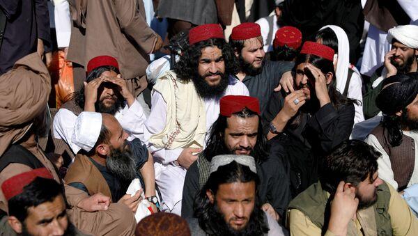 Talibowie, których zwolniono z więzienia w Kabulu - Sputnik Polska