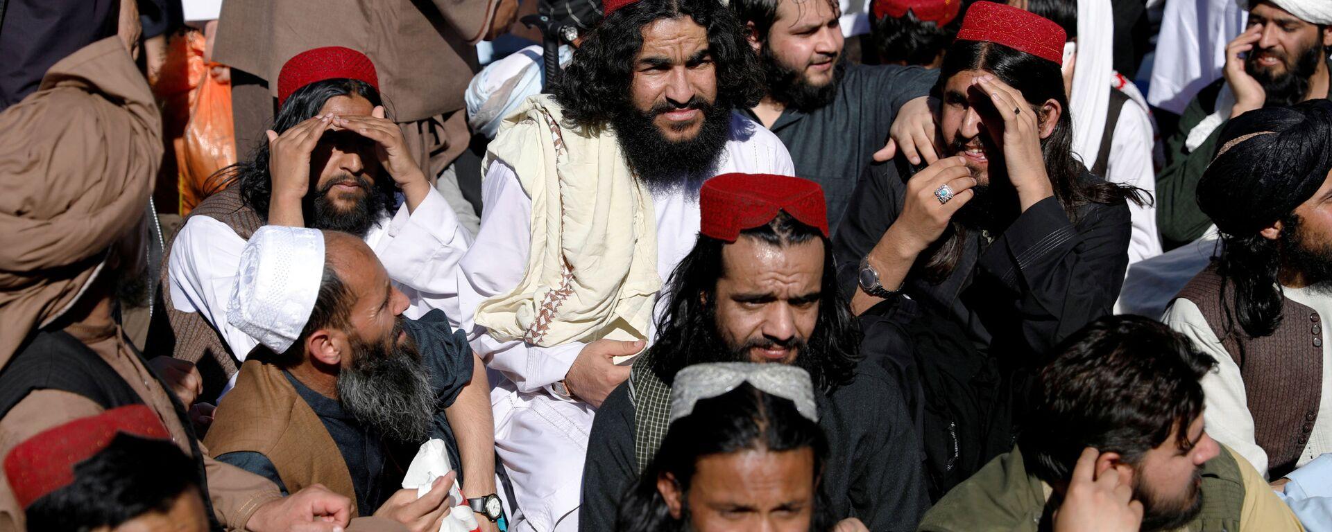 Talibowie, których zwolniono z więzienia w Kabulu - Sputnik Polska, 1920, 23.08.2021