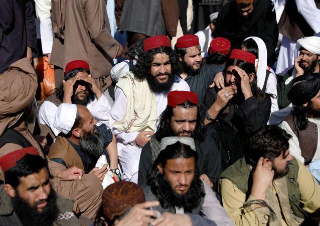 Talibowie, których zwolniono z więzienia w Kabulu