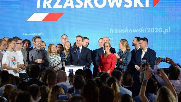Sztab wyborczy Rafaa Trzaskowskiego - Sputnik Polska