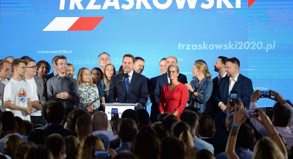Sztab wyborczy Rafaa Trzaskowskiego