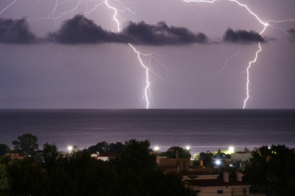 Burza w Grecji
