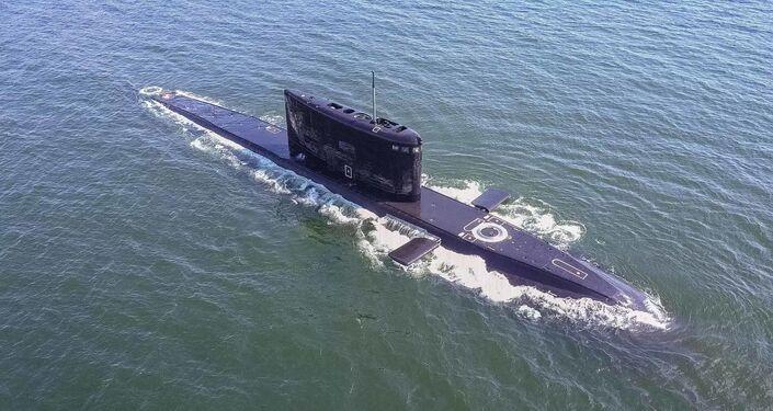 Ratownicy Floty Bałtyckiej przeprowadzili trening w ramach pomocy okrętowi podwodnemu