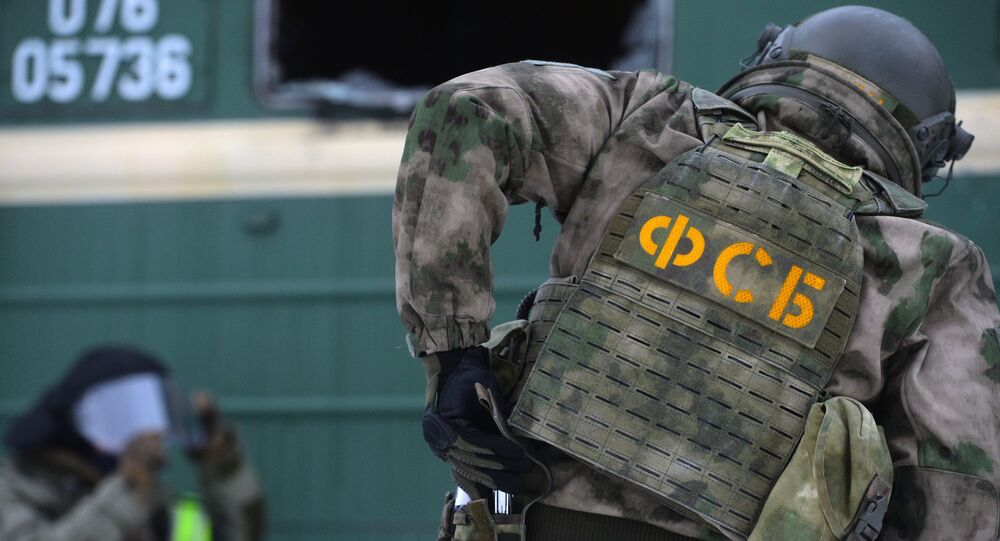 Oficer operacyjny FSB.