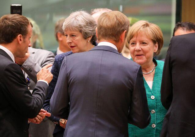 Angela Merkel i Theresa May