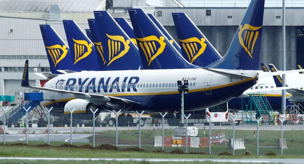 Samoloty linii lotniczej Ryanair