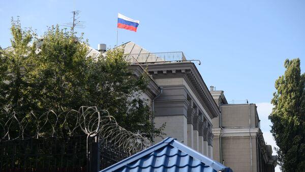 Budynek Ambasady Federacji Rosyjskiej w Kijowie - Sputnik Polska