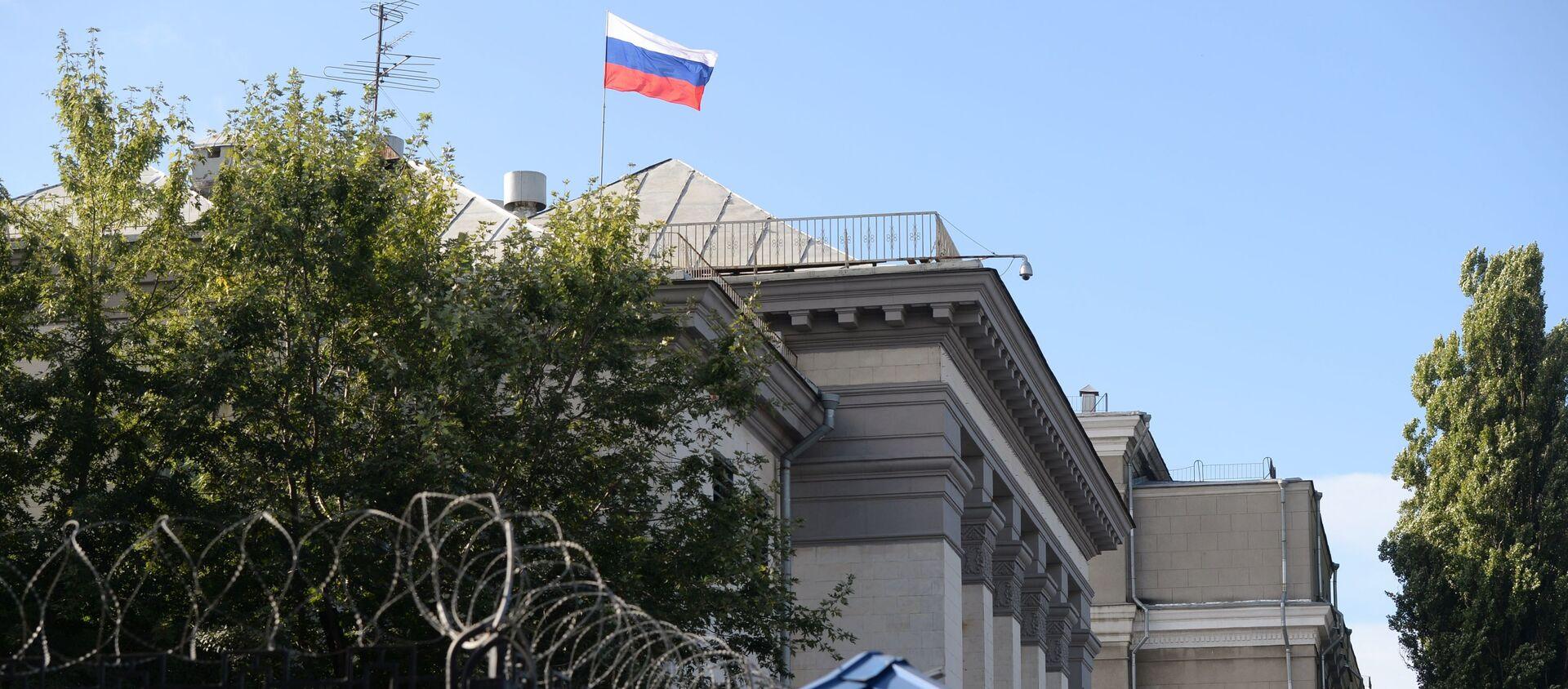 Budynek Ambasady Federacji Rosyjskiej w Kijowie - Sputnik Polska, 1920, 17.04.2021