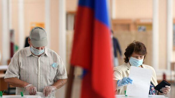 Głosowanie nad poprawkami do Konstytucji Federacji Rosyjskiej - Sputnik Polska