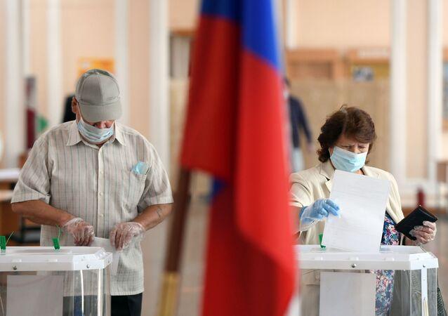 Głosowanie nad poprawkami do Konstytucji Federacji Rosyjskiej