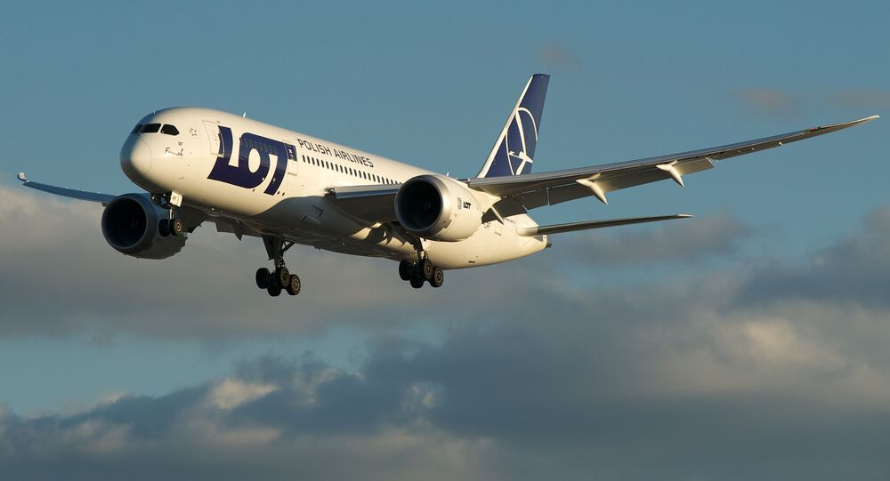 Samolot linii lotniczych LOT