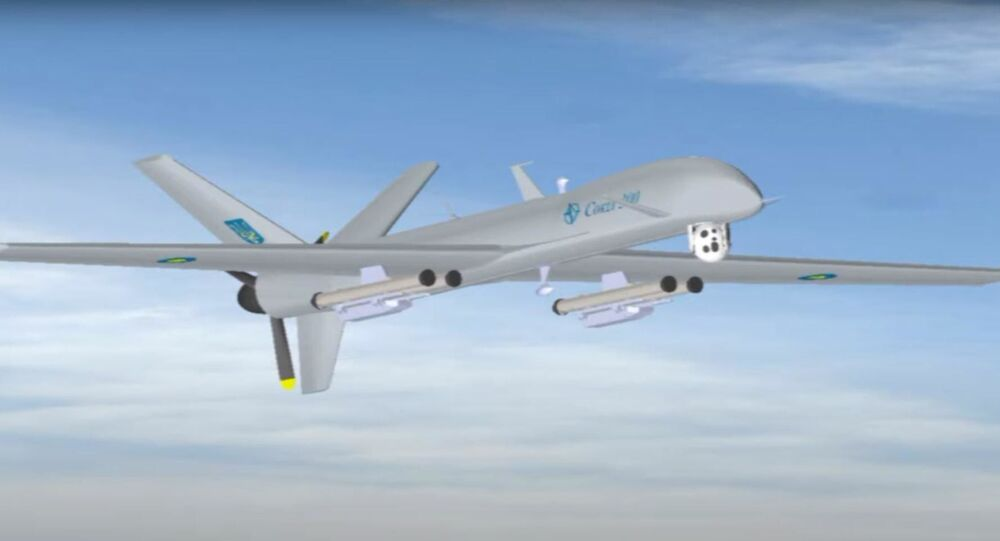 Bezzałogowy aparat latający Sokoł-200