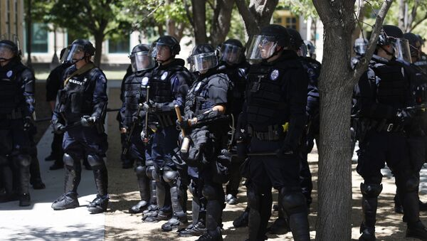 Amerykańscy policjanci. Kolorado, USA. - Sputnik Polska