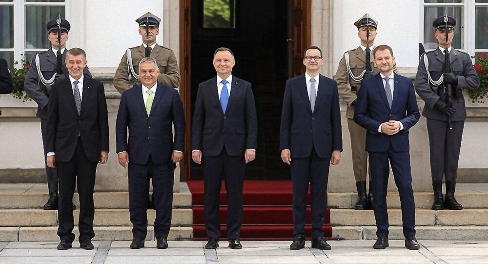 Szczyt V4 w Warszawie
