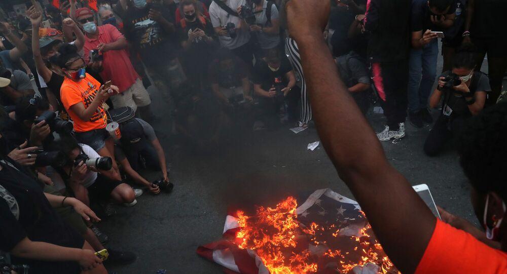 Protesty w USA, 4 lipca 2020 r.