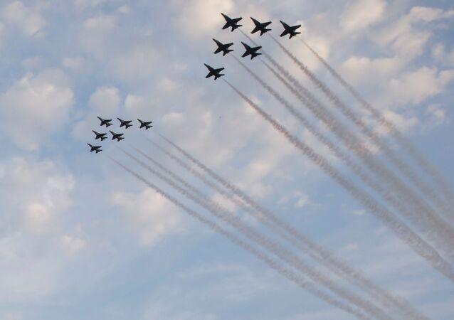 Parada lotnicza w Dzień Niepodległości w Waszyngtonie