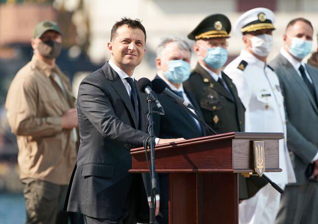 Obchody Dnia Marynarki Wojennej w Odessie