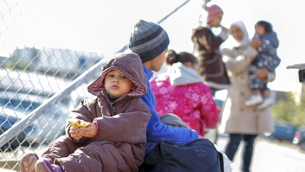 Uchodźcy w Szwecji - Sputnik Polska