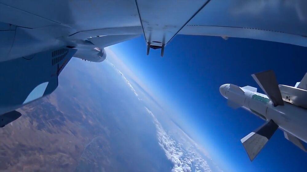 Samolot Rosyjskich sił powietrznych w Syrii
