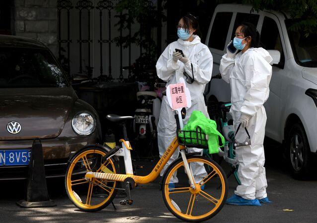 Sytuacja z koronawirusem w Pekinie