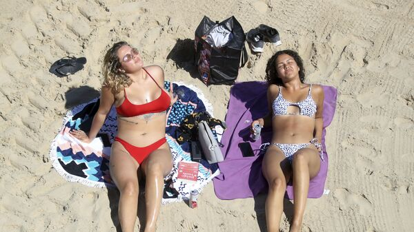Cullercoats Beach - Sputnik Polska