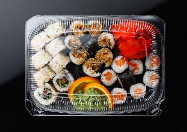 Pudełko z sushi