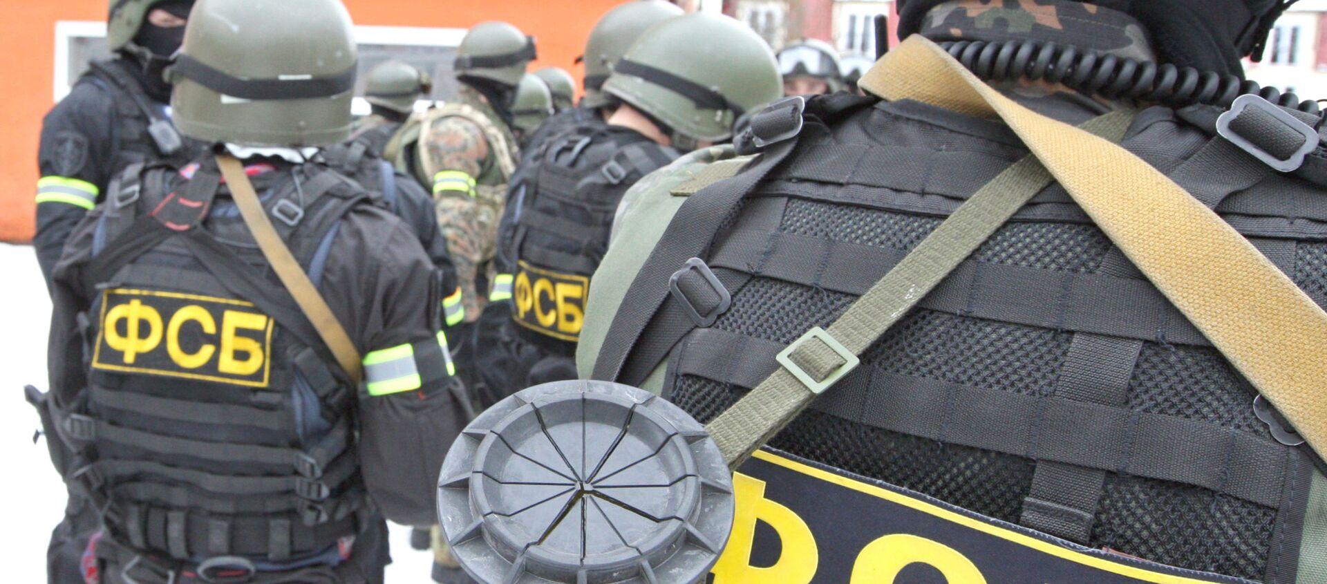 Funkcjonariusze FSB - Sputnik Polska, 1920, 01.04.2021