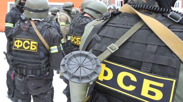 Funkcjonariusze FSB - Sputnik Polska