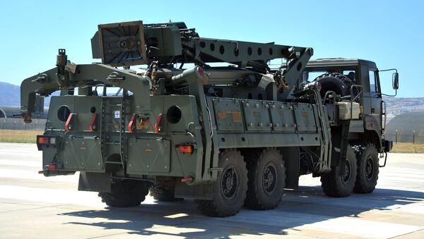 Wyrzutnia S-400 w Turcji - Sputnik Polska
