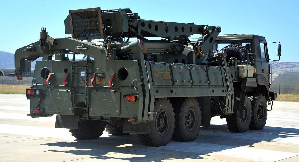 Wyrzutnia S-400 w Turcji