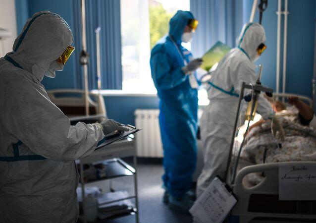 Pacjent w szpitalu