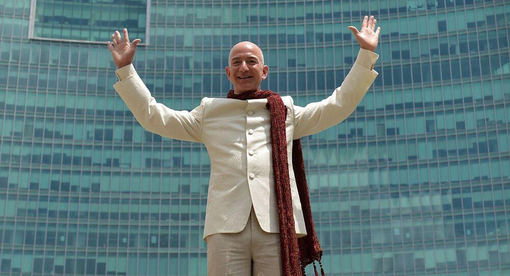 Prezes Amazon i założyciel firmy Amazon Jeff Bezos